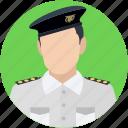 captain, pilot, sergeant, traffic sergeant, traffic warden