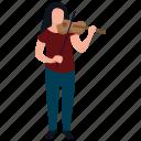 music artist, music composer, professional violinist, sound making, violinist icon