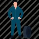 car repairing, labour, maintenance man, workshop worker