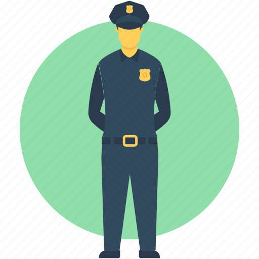 constable, officer, police officer, policeman, policeman avatar icon