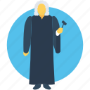 judge, attorney, advocate, lawyer, magistrate