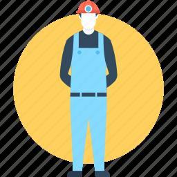 labour, mine worker, miner, professional, worker icon