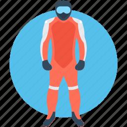 athlete, mogul, skier, sky rider, slalom icon
