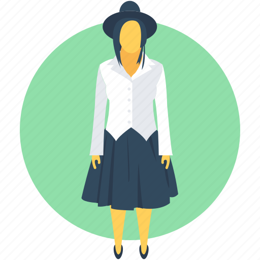 Boss, female, lady, woman, woman manager icon - Download on Iconfinder