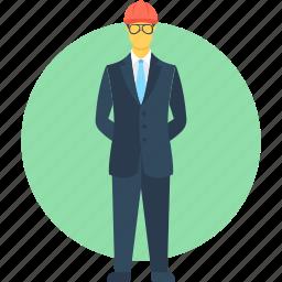 architect, construction worker, developer, engineer, worker icon