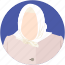 arab women, grandma, grandmother, islamic women, muslim woman icon