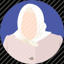 arab women, grandma, grandmother, islamic women, muslim woman icon