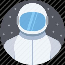 astronaut, astronaut space, cosmonaut, nasa astronaut, spaceman icon