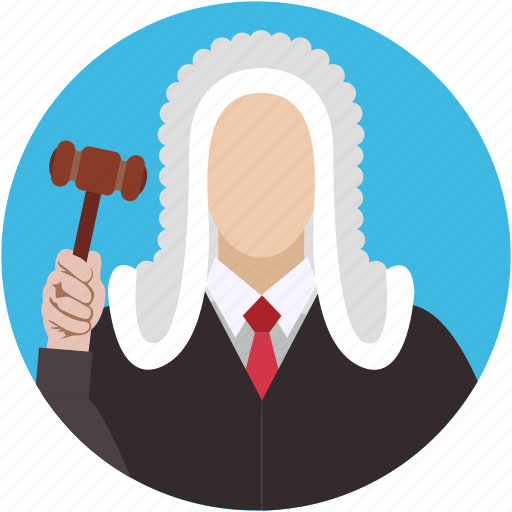 advocate, attorney, judge, lawyer, magistrate icon