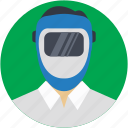 avatar, occupation, people, repair, welder icon