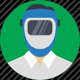 avatar, occupation, people, repair, welder icon