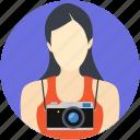 lens person, photographer, cameraperson, female photographer, documentarian