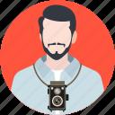 photographer, cameraman, professional, documentarian, lensman