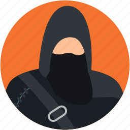 burglar, criminal, robber, spy, thief icon