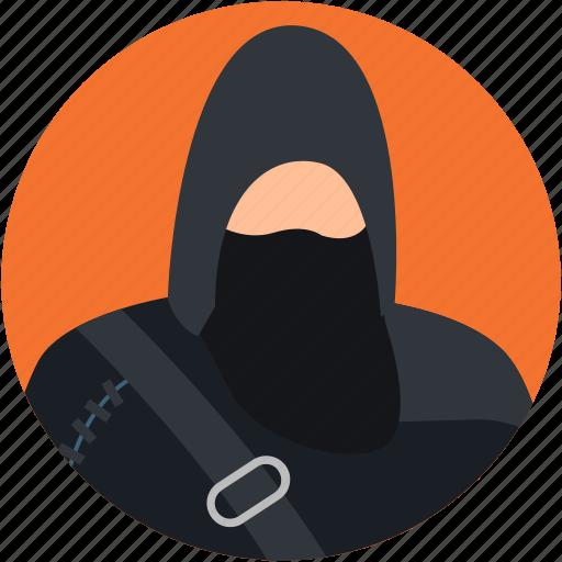burglar, criminal, robber, spy, thief icon