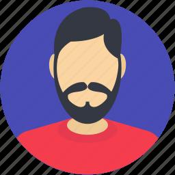 human, male, male avatar, person, user icon