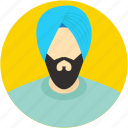 indian, punjabi, religious, sikh, sikhism icon