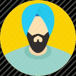indian, punjabi, religious, sikh, sikhism icon