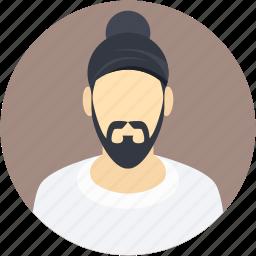 indian, man, religious, sikh, sikhism icon