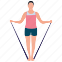dance workout, aerobics, yoga, dance club, gymnastic icon