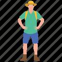 avatar, cattleman, cowboy, drover, farmer, wild west icon