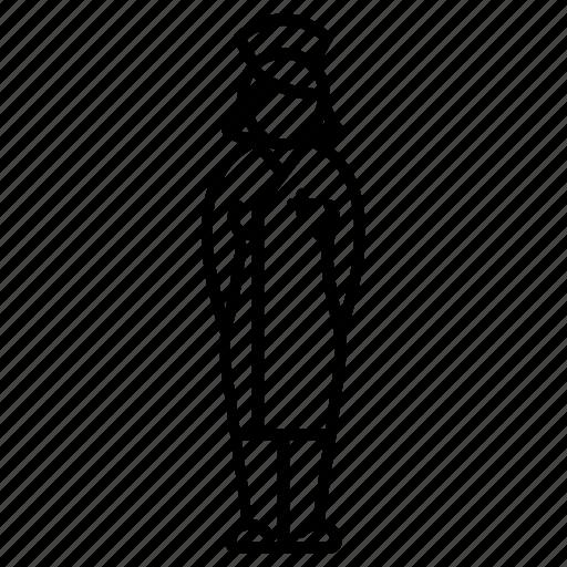 body, doctor, female, nurse, profession, woman, worker icon