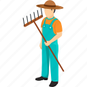 caretaker, farmer, gardener, greenskeeper, nurseryman icon
