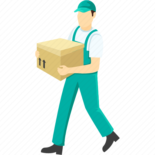 delivery boy, delivery man, emissary, gofer, shipment icon