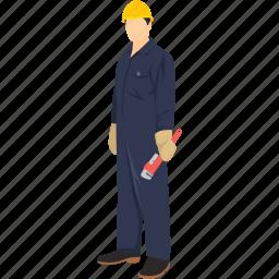 mechanic, pipe fitter, plumber, repair, sewage, water worker, worker icon