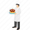 chef, cuisiner, culinary, occupation, profession, restaurant, waiter icon