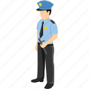airline pilot, captain, pilot, police, police officer, sergeant, ship captain icon