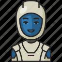 astronaut, space, astronomy, spaceman, helmet, avatar, people