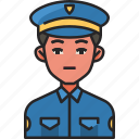 police, security, law, crime, cop, avatar, man