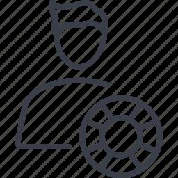 avatar, navigator, professional, professions, steering icon