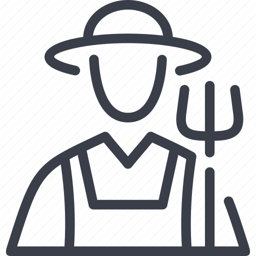 agriculture, avatar, farmer, people, professions icon