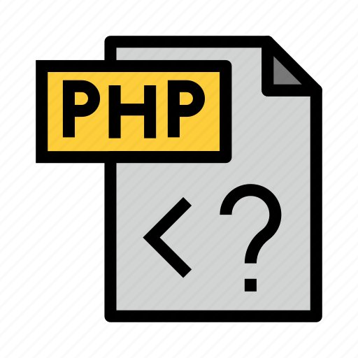 Coding, file, php, programming, scripting icon - Download on Iconfinder