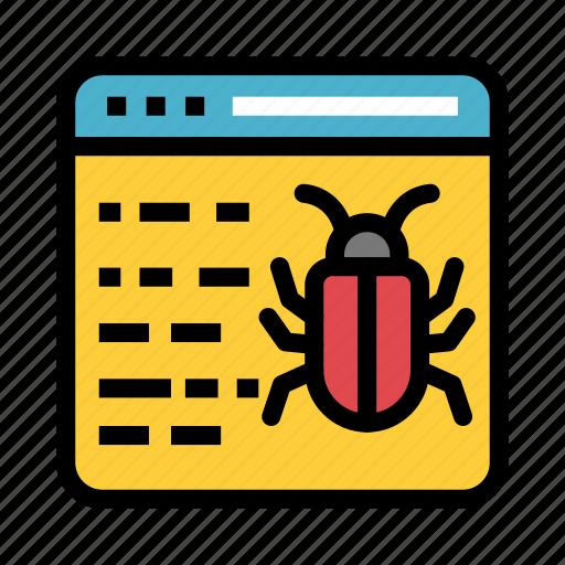 Bug, internet, malware, threat, virus icon - Download on Iconfinder
