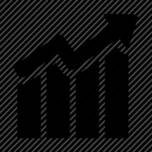 analysis, analytics, finance, growing, growth, progression, statistics icon