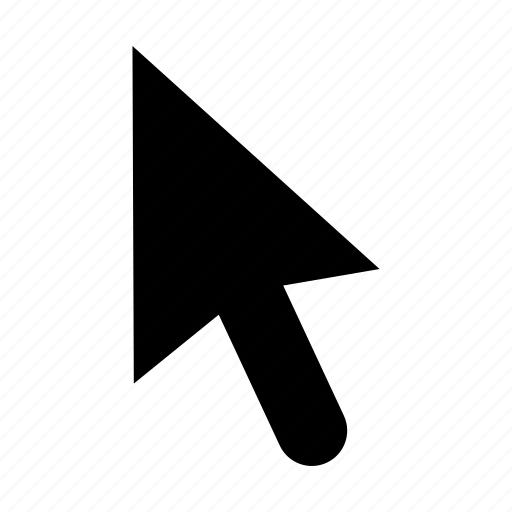 Arrow, click, computer, cursor, mouse, pointer icon
