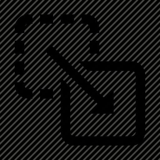 drag, move icon