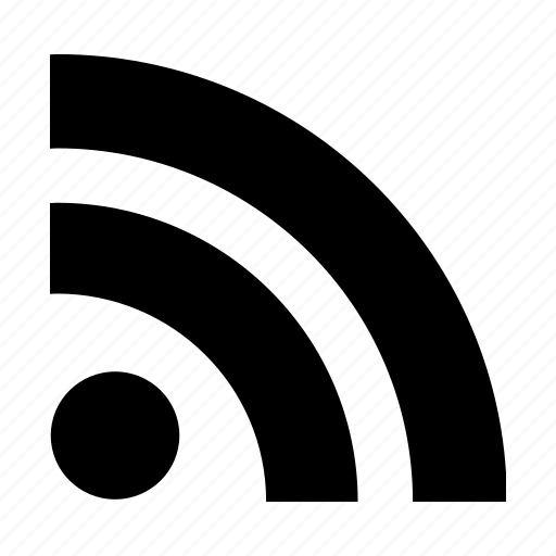 internet, network, rss, web, website icon