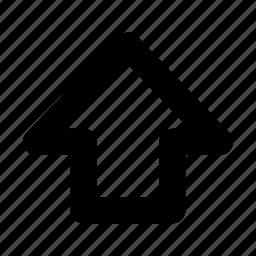 arrow, shift, shift key, up icon