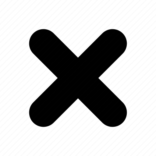 cancel, cross, delete, error, false, remove, wrong icon