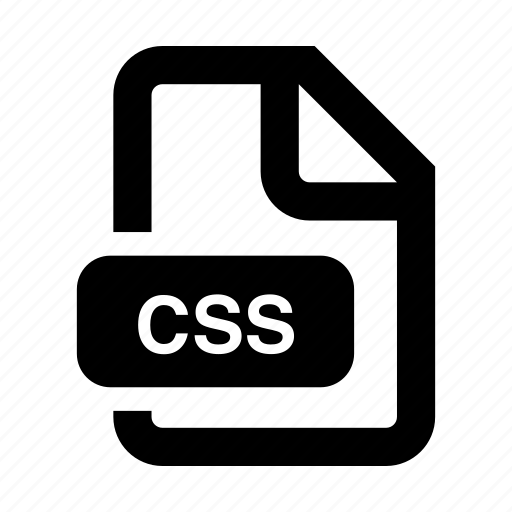 css, document, file, filetype, programming, web, website icon