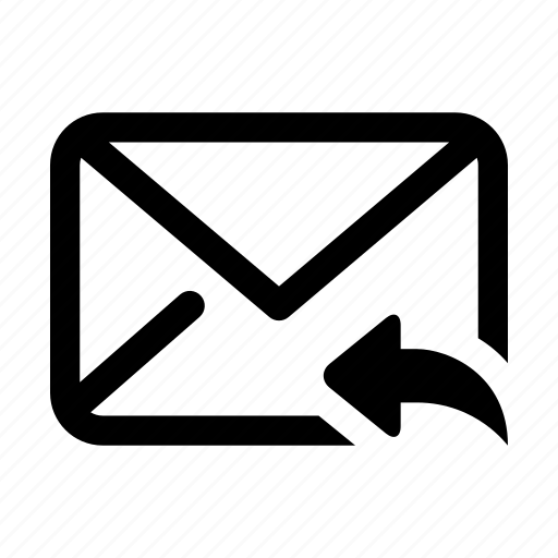 communication, email, envelope, letter, mail, message, reply icon