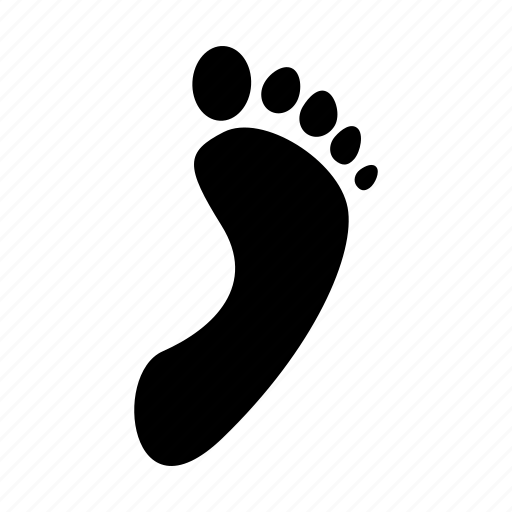 Footstep, feet, foot, footwear, shoe, shoes icon - Download on Iconfinder