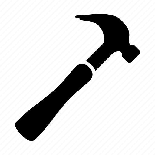 construction, equipment, fix, hammer, repair, tool, tools icon