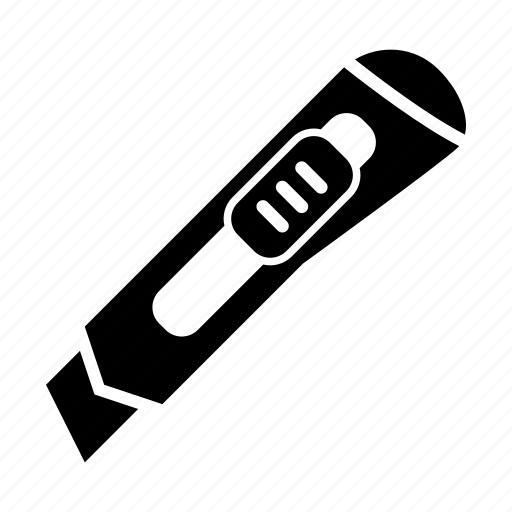 blade, cut, cutting, knife, utility knife icon