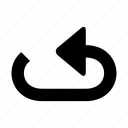 arrow, back, backward icon