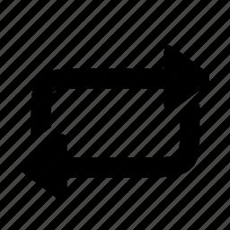 arrow, arrows, refresh, reload, repeat, rotation, sync icon